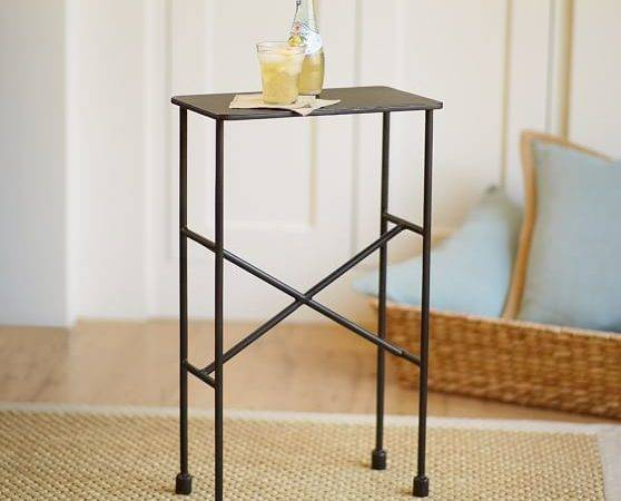 Zane Accent Side Table Pottery Barn