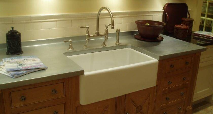 Zinc Countertop Brooks Custom